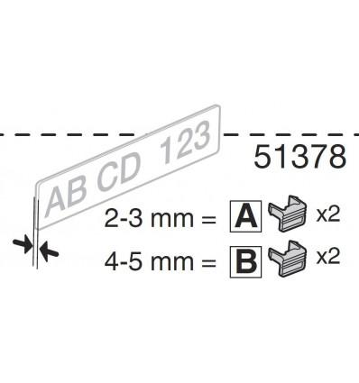 Euroride, Clip De Remplacement (2a+2b)