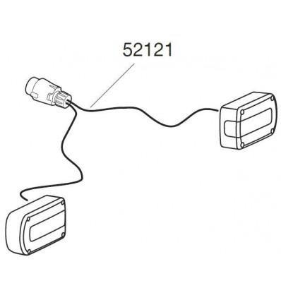 Thule Kit Cable Connexion + Feux Arrieres