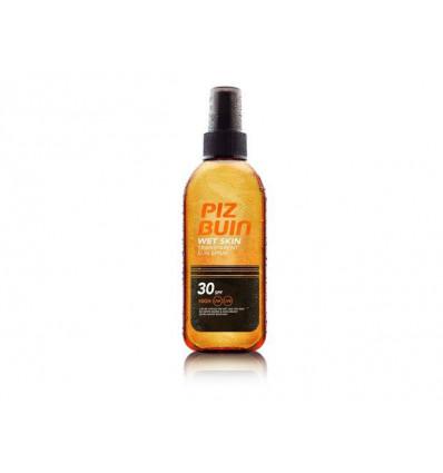 Spray solaire IP 30 Wet Skin Piz Buin