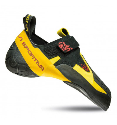 Chaussons d'escalade La Sportiva Skwama (Black/yellow) - AlpinStore