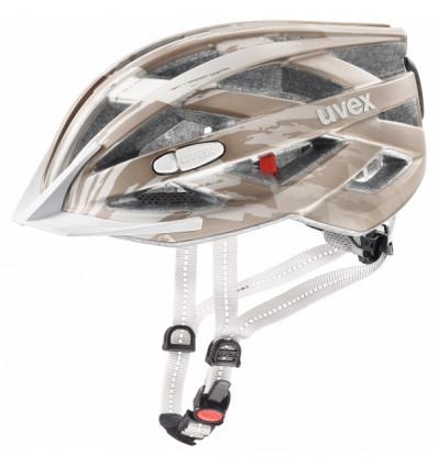 Casque de vélo Uvex City I-vo (Champagne mat)