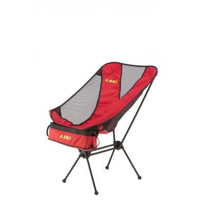 Chaise pliante Chiller Leki (rouge)