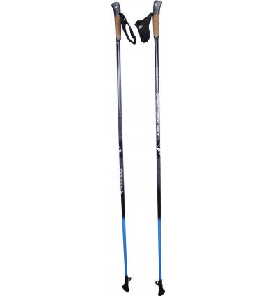 Bâtons Raidlight Nordic Walk Auto Clip 50 (BLACK ELECTRIC BLUE)