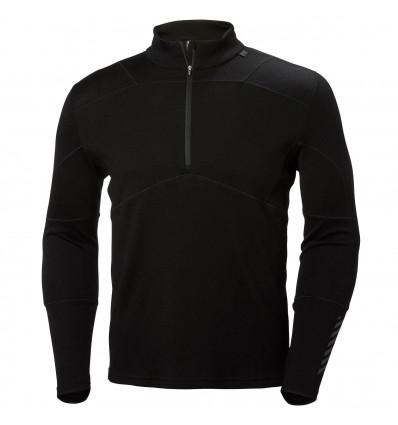 T-shirts Helly Hansen Hh Lifa Merino 1/2 Zip (BLACK) - AlpinStore