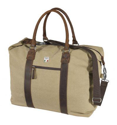 Travel bag Dolomite 60 Canvas Weekender XL (Almond Beige) - AlpinStore