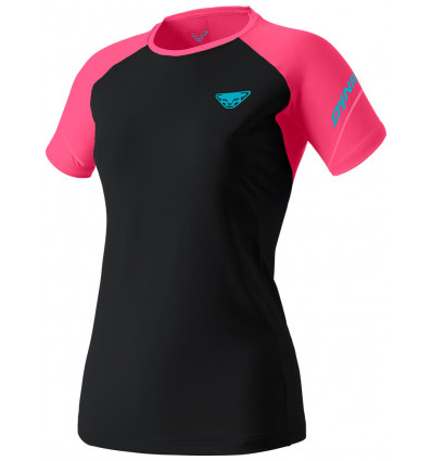 Trail Dynafit Alpine Pro S / S Tee (Fluo Pink) woman - AlpinStore