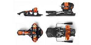 Ski touring binding